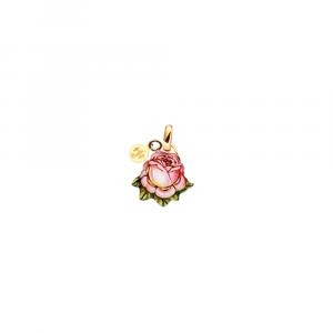 Ciondolo rosa mini preziosi
